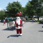 Christmas in July party at Sugar Ridge Campground